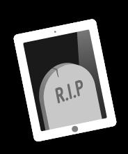dead iPad