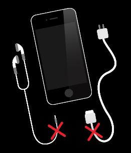iphone broken sockets